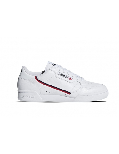 ADIDAS Continental 80 pelle Bianco/Rosso